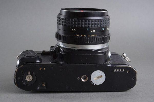 Pentax Super A + 2.8/28mm lens by Tokina