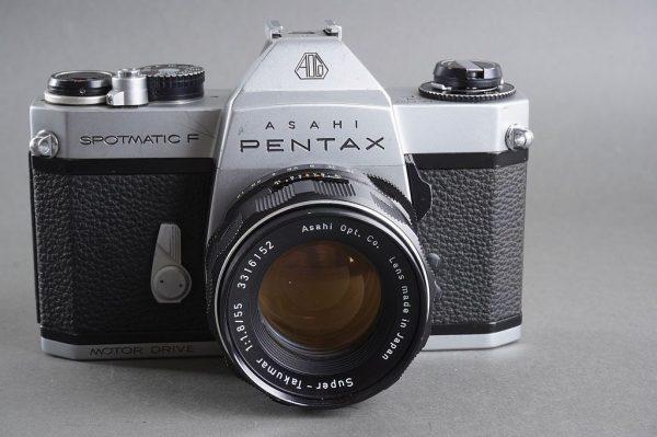 Pentax Spotmatic SP F Motor Drive + Super-Takumar 1.8 / 55mm lens