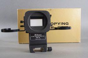 Nikon slide copying adapter PS-6, BOXED