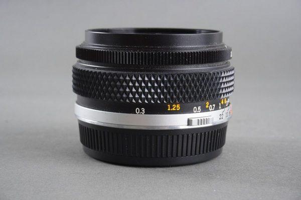Olympus OM Zuiko 2.8 / 28mm lens