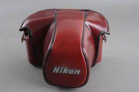 Nikon CF-20 leather case for F3 camera