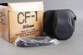 Nikon CF-1 semi soft case for F2, BOXED