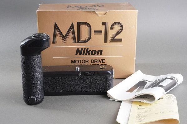 Nikon motor drive MD-12, boxed