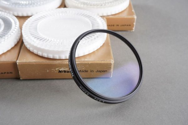 Lot of 5x NIKON 52mm filters. L37C, all boxed
