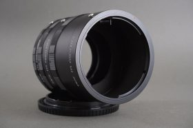 a Pentax 6×7 extension tube set