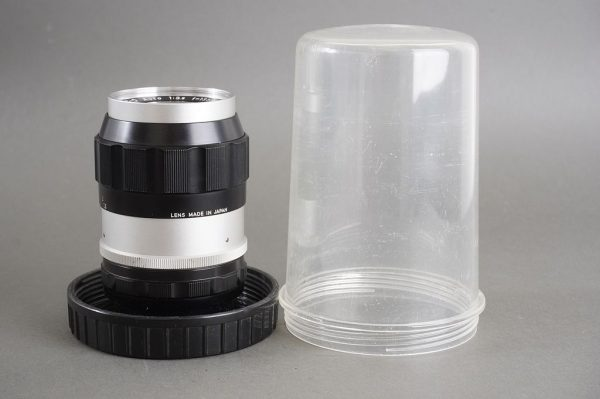 Nippon Kogaku Nikon Nikkor-Q 1:3.5 / 13,5cm lens, pretty early,  non-AI