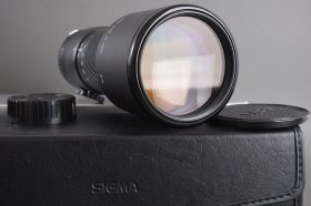 Sigma 400mm 1:5.6 APO MF lens in Olympus OM mount – boxed