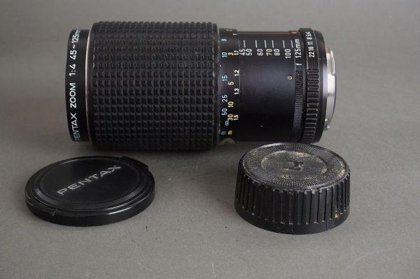 SMC Pentax Zoom 45-125mm 1:4 in Pentax PK mount, K series lens
