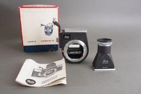 Leica Visoflex III housing + vertical finder – boxed