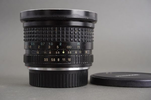 RMC Tokina 17mm 1:3.5 lens for Contax / Yashica SLR