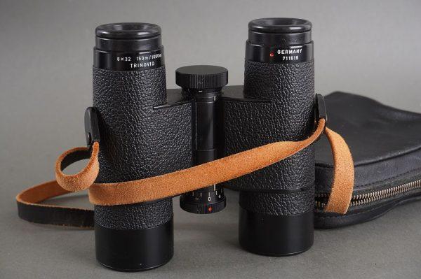 Leica Leitz Trinovid 8×32 150m / 1000m binoculars, in case