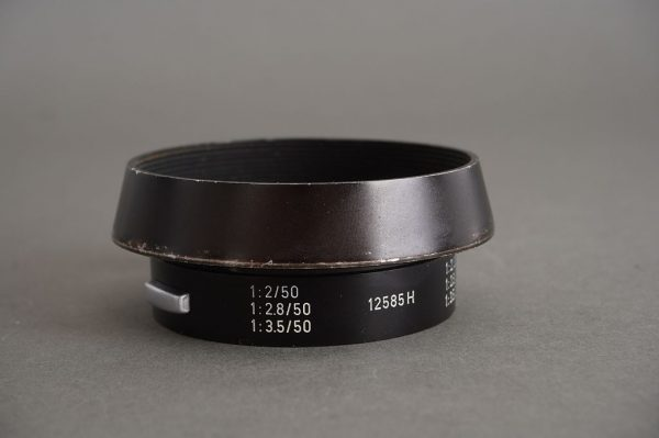 Leica Leitz 12585H lens hood for 35mm and 50mm Summicron lens