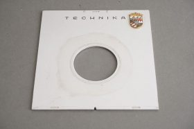 Linhof Technika lens board, 10×9.5cm, for Copal 0