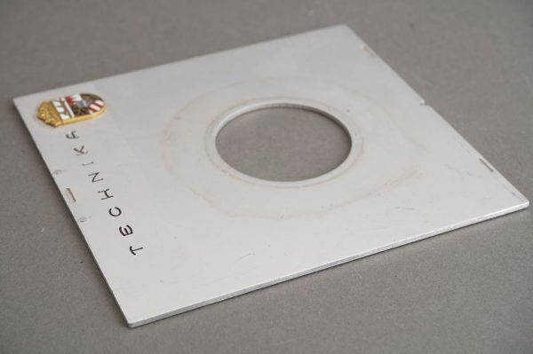 Linhof Technika lens board, 10×9.5cm, for Copal 0