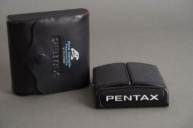 genuine Pentax waist level finder for 67 / 6×7 camera – in case