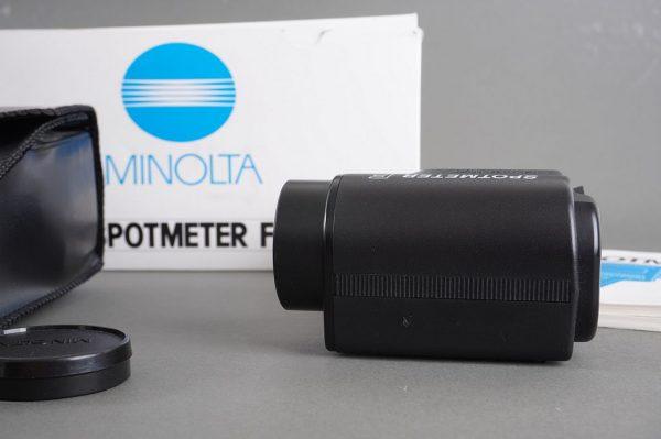Minolta Spotmeter F – boxed
