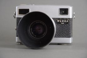 Werra Mat camera with Jena T (Carl Zeiss Jena Tessar) 50mm f/2.8 lens