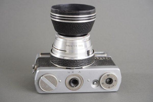 Werra Mat camera with Jena T (Carl Zeiss Jena Tessar) 50mm f/2.8 lens