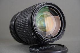Canon Zoom Lens FD 35-105mm 1:3.5-4.5 Macro lens