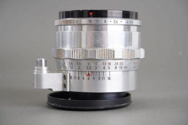 Carl Zeiss Jena Biotar T 58mm 1:2 lens for Exakta