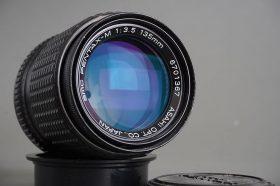 SMC Pentax-M 135mm 1:3.5 PK Mount lens