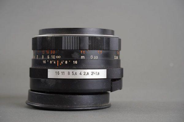Pentaon Auto 50mm 1:1.8 in M42 mount