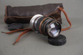 black paint Elmar 9cm 1:4 lens