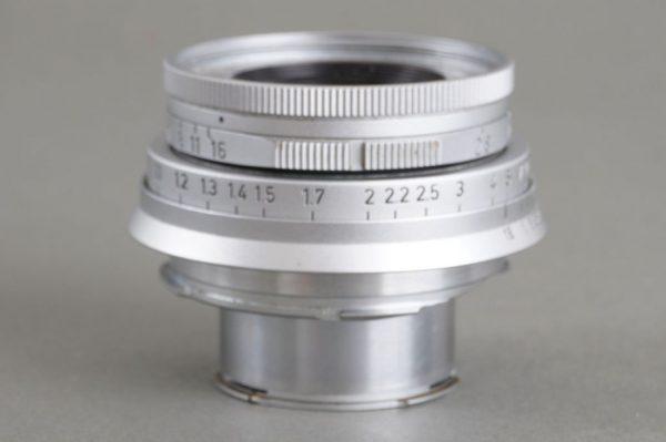 Leica Leitz Wetzlar 50mm 1:2.8 Elmar M mount lens, collapsible