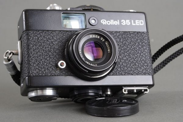 Rollei 35 LED camera with Triotar 3.5/40 lens