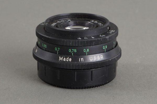 Industar 50-2 50/3.5 pancake lens in M42 mount