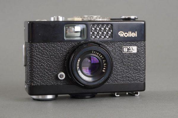 Rollei B35 camera with Triotar 3.5/40 lens