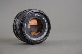 Canon Lens FDn 50mm 1:1.8