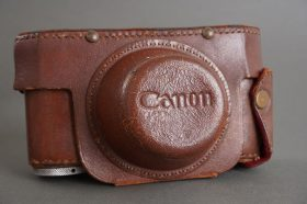 Canon earlt leather everready case for rangefinder camera