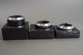 a nice set of Olympus extension tubes: 7 auto, 14, 25 auto