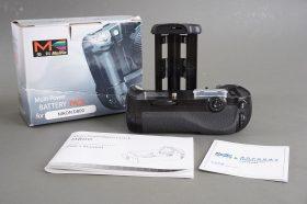 Meike MK-D800 multi-power battery pack for Nikon D800 – boxed