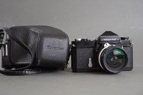 Nikon Nikkormat FTN camera with Nikkor-H.C 28mm 1:3.5 nonAI lens