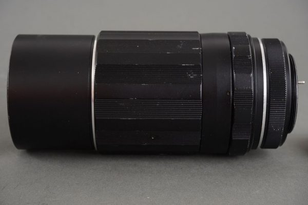 Super-Takumar 200mm 1:4 lens in M42 mount