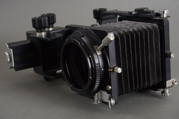 Mamiya Auto Bellows for M645, with movements, easy to adapt to DSLR for plenty of movement!
