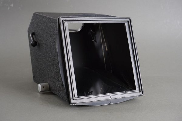 Sinar 4×5 reflex housing mirror finder