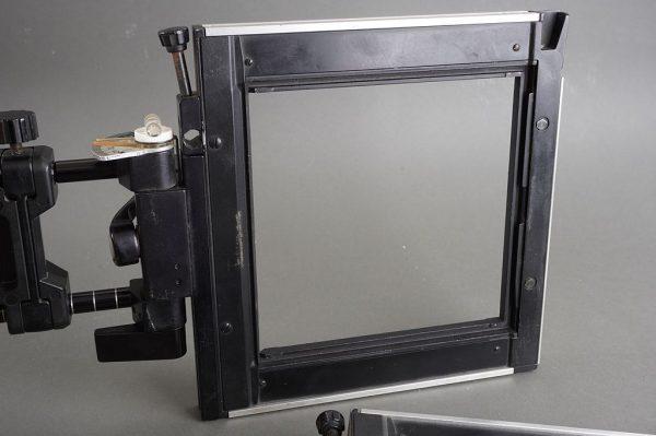 Sinar F / F2 standard + additional frame, 4×5