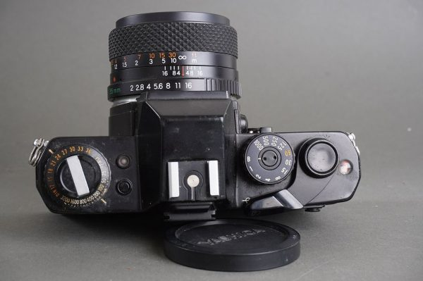 Yashica FR camera with DSB 55mm 1:2 lens