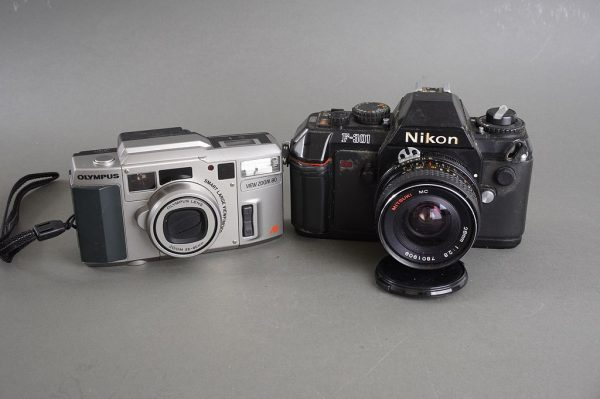 mixed lot of defective cameras and lenses – as per pictures