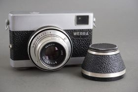 Werra 1 camera with Jena T (Carl Zeiss Jena Tessar) 50mm f/2.8 lens