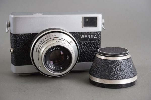 Werra 1 camera with Jena T (Carl Zeiss Jena Tessar) 50mm f/2.8 lens