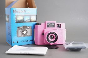 Holda 120N fancy pink 6×6 / 6×4.5 camera, boxed