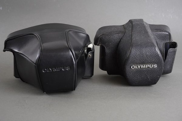 Olympus OM 1.4N leather everready camera case