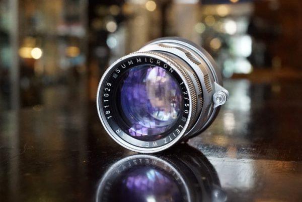 Leica Leitz Summicron 1:2 / 50mm Rigid, worn