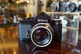 Nikon F2 + DE-1 Plain prism + Nikkor 50mm f/1.4