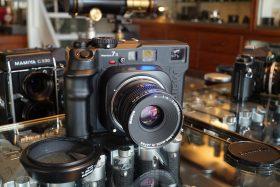 Mamiya 7II + Mamiya 4 / 80mm Sekor lens – Rental