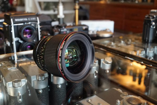 Canon lens FD 24mm f/1.4 L nFD